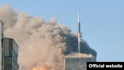 США - 11 сентября 2001 года в Нью-Йорке.