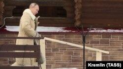 Путин ва Кремль Геленжикда ҳеч қандай сарой йўқлигини айтиб келади