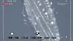 Video Purportedly Shows Iranian Drone Tracking U.S. Aircraft Carrier