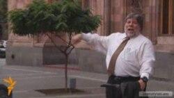 Apple co-founder Steve Wozniak in Armenia