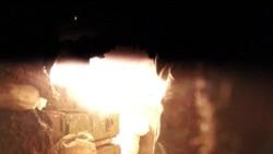 Поламка крупнокаліберного кулемету ДШК під час нічного бою неподалік Попасної