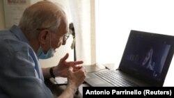 Cuzeppe Paterno, 96 yaşında. İtaliyanın ən yaşlı tələbəsi onlayn imtahan verir. 2020