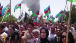 Azerbaijan Opposition Rally in Baku