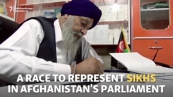 Afghan Sikh Seeks A Seat In Parliament