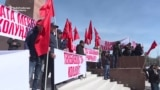 Kyrgyz Protesters Demand Opposition Leader's Release