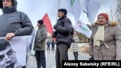 Митинг памяти Бориса Немцова в Великом Новгороде