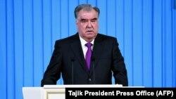 د تاجیکستان جمهور رئیس امام علي رحمان