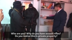 Video Shows Raid On Crimean Tatar Business