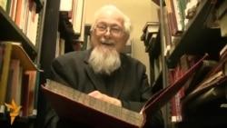 Відэаэкскурсія па беларускай бібліятэцы ў Лёндане
