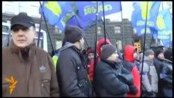 Пікетування активістами Євромайдану Кабміну України