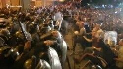 Протесты в Грузии: люди вышли на улицы из-за депутата из России