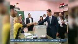 Syrians Vote In Controversial President Election