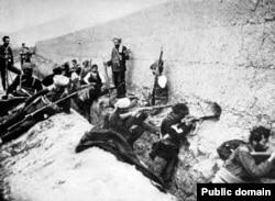 Armenian forces in Van in 1915