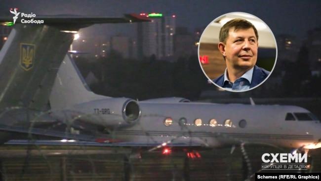 Під санкції потрапив і найближчий соратник кума Путіна Тарас Козак і літак, яким користувався він