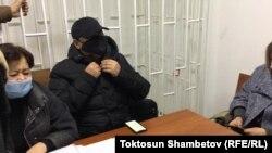 Райымбек Матраимов в зале суда.