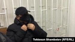 Райымбек Матраимов в зале суда. 9 февраля 2021 года.