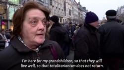Czechs Protest Communist-Era Cop Heading Police Watchdog