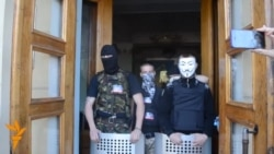 Pro-Russia Separatists Seize Donetsk TV Center