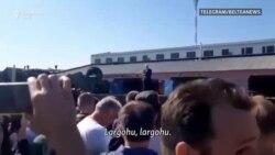 Punëtorët e quajnë Lukashenkan gënjeshtar