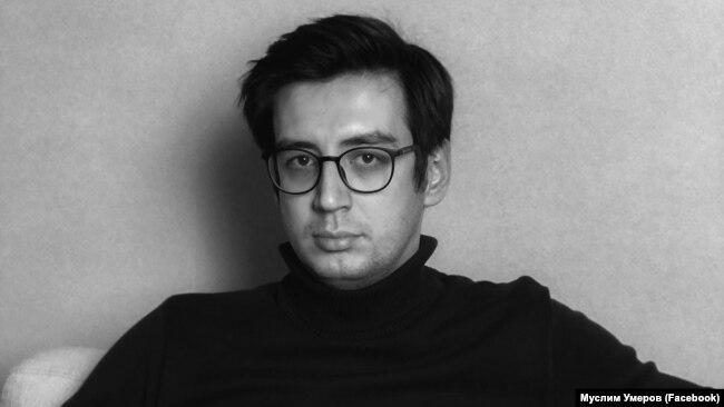 Журналист, ведущий крымскотатарского шоу на «Суспільне радіо» Муслим Умеров