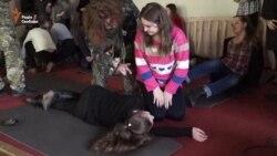 Бійці «Дніпра-1» викладати медицину школярам Дніпропетровська