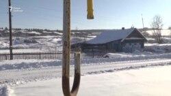 Под Нижним Тагилом замерзает село Бродово