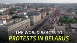 World Reacts To Growing Postelection Turmoil In Belarus