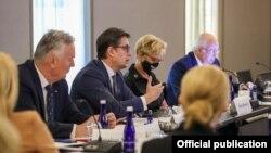 Претседателот Стево Пендаровски во Њујорк учествуваше на 20.состанок на високо ниво во организација на Меѓународниот центар Низами Ганџави, што се одржа на маргините на 76. Генерално собрание на Обединетите нации