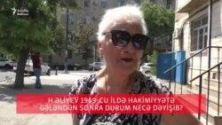 Bakı sakinləri Heydər Əliyev haqda...