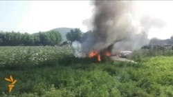 Pakistan Air Force Plane Crash Injures Two Pilots