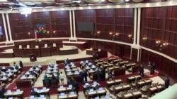 Milli Məclisin son iclasından görüntülər