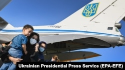 Ukraine has brought 256 people from Afghanistan to Kyiv after the Taliban takeover.