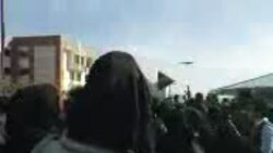 Protest at Qazvin University