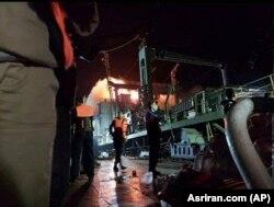 Snimci posade sa prslucima za spasavanje na Kargu prije nego se požar raširio i brod potonuo