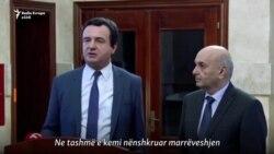 LVV dhe LDK nënshkruajnë marrëveshje koalicioni