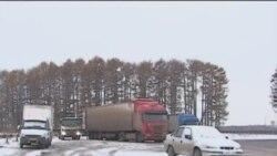 Башкортстанда йөк машиналары йөртүчеләр протест белдерде