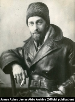 Американський фотограф Джеймс Еббе під час першої поїздки до Радянського Союзу у 1927 року. James Abbe / James Abbe Archive