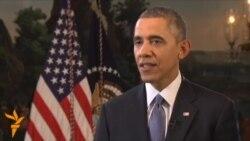 اوباما احتمال مداخله نظامی آمریکا را در اوکراین رد کرد