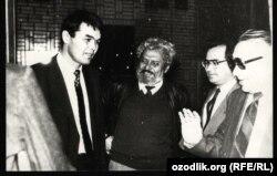 1989 yil. Muhammad Solih va Bekjon Toshmuhammedov