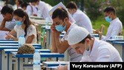 Вступительные экзамены в Узбекистане, 2020 год.
