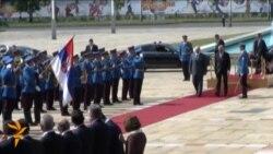 Lukashenka Visits Serbia