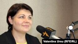 Moldova -- Natalia Gavrilița, Chișinău, 03Aug2021
