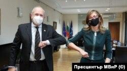 Владимир Бучковски и Екатерина Захариева