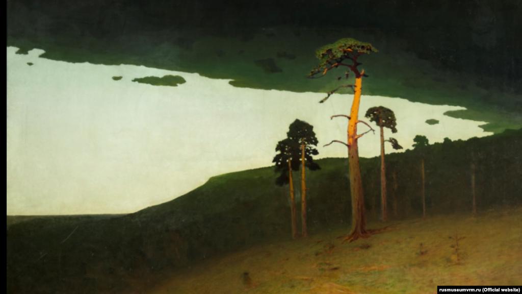 Івана Айвазовського в той час у Криму не було, освітою Куїнджі зайнявся учень знаменитого художника Адольф Фесслер. На фото пізня картина Куїнджі «Крим» (1900-1905)