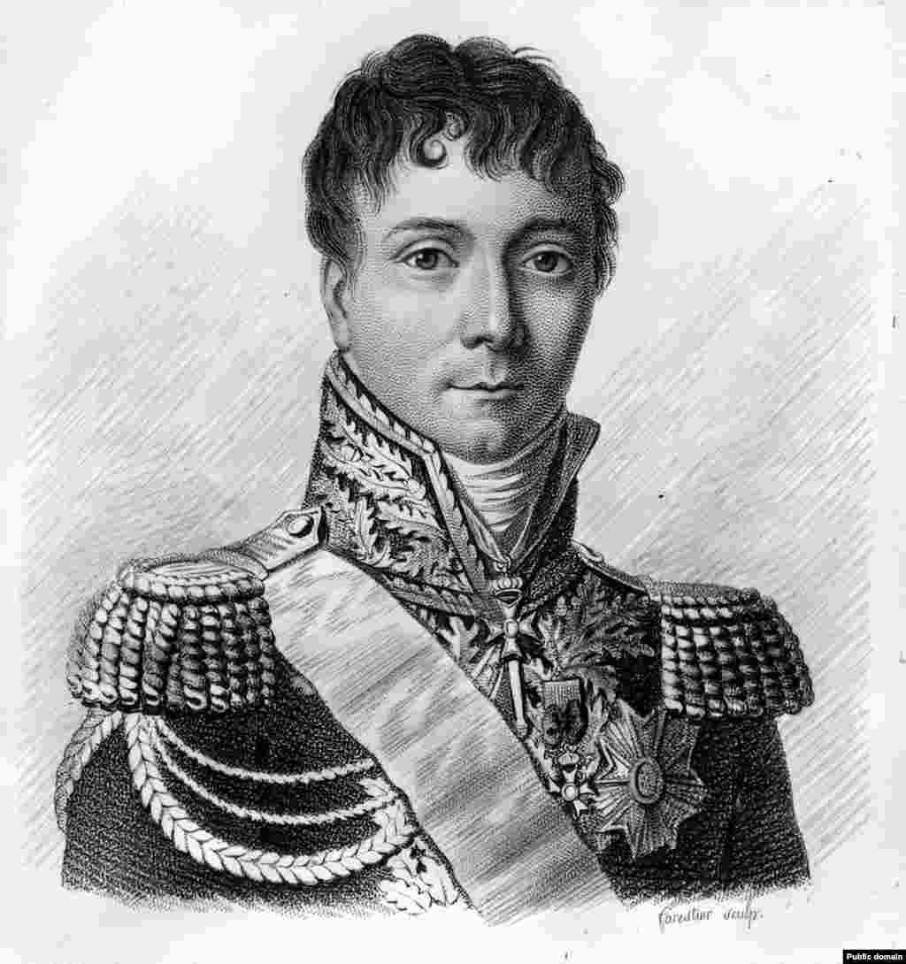 Gudin (1768. - 1812.) bio je jedan od najtalentovanijih mladih generala Francuske koji se borio pod Napoleonom u invaziji na Rusiju 1812. godine.