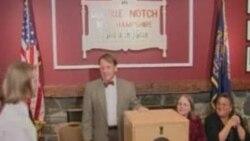 АҚШ: Сайлау – алғашқы нәтижелер Дисквилл Нотч