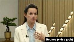 Кандидат в президенты Беларуси от оппозиции Светлана Тихановская.