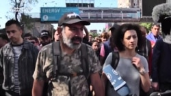 Pashinian Says Victory 'Inevitable' For Armenian Protesters