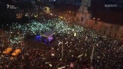 Найбільш масовий протест у Словаччині – через вбивство журналіста (відео)