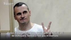 Oleh Sențov - liber, după 5 ani de închisoare